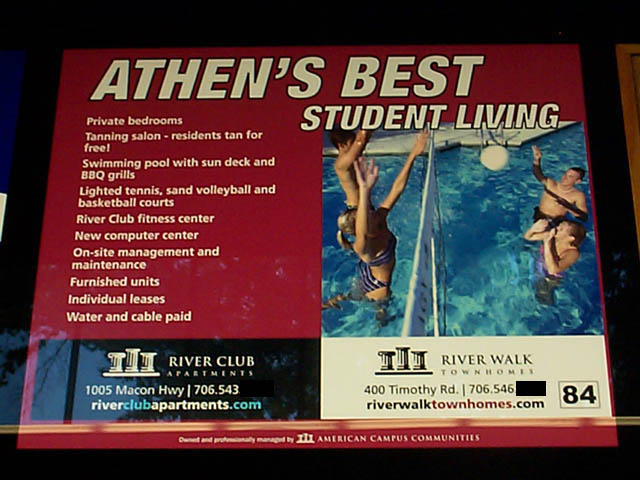 Athen's Best Student Living